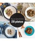 Menú bajo en carbohidratos 28 platos