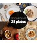 "Menú ""para mayores"" 28 platos"