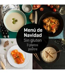 Menú de Navidad Sin Gluten 3 platos + postre