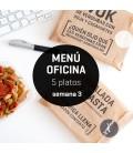 Menú semanal oficina 5 platos Semana 3