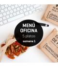 Menú semanal oficina 5 platos Semana 1