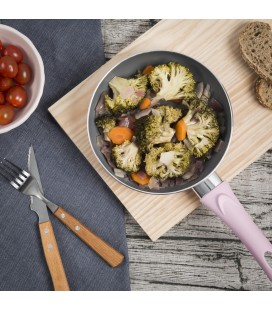 Ensalada de verduras a baja temperatura