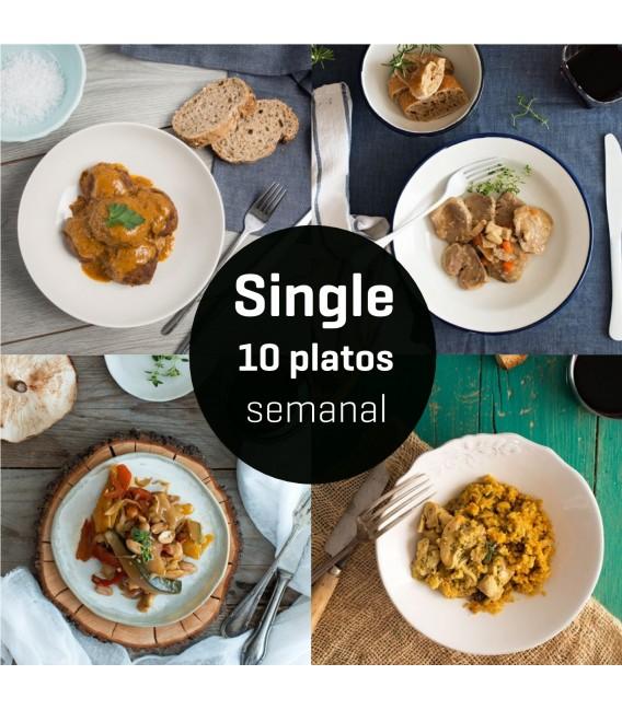 Menú Single 10 platos semana 1