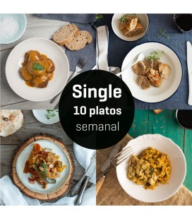 Menú Single 10 platos semana 1