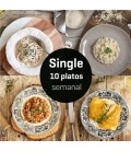 Menú Single 10 platos semana 2
