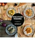 Menú semanal oficina vegano 5 platos Semana 3