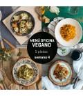 Menú semanal oficina vegano 5 platos Semana 4