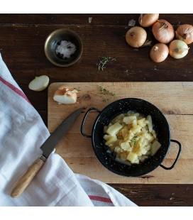Preparado de tortilla de patatas con cebolla confitada - 2 kg.