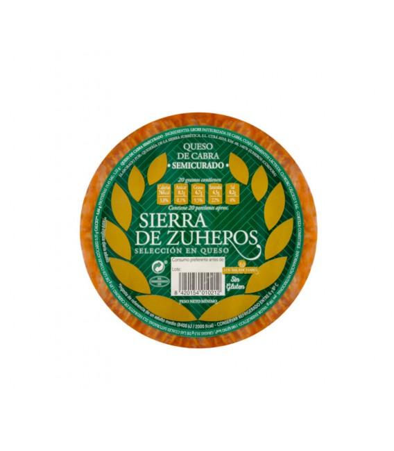 Queso de Cabra Semicurado con Pimentón