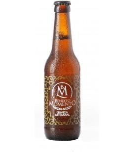 Cerveza Artesana Bendito Momento Pack de 24 botellines de 33 cl.