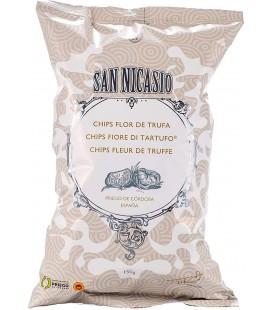 Patatas fritas flor de trufa San Nicasio - 150 g.