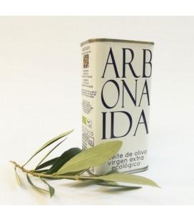Aceite de Oliva Virgen Extra Ecologico 250 ml.