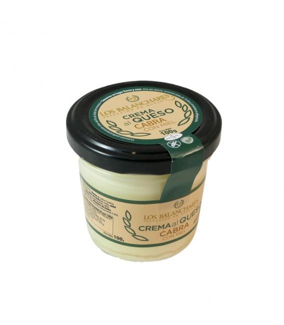 Crema Queso Cabra con miel tarro 100 gr.