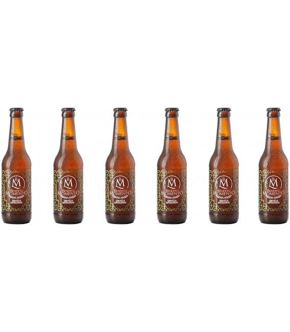 Cerveza Artesana Bendito Momento Pack de 24 botellas de 33 cl.