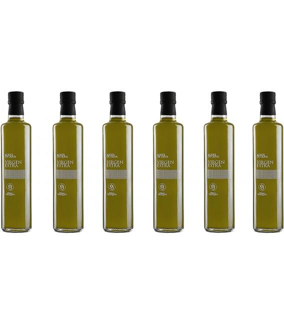 Aceite de Oliva Virgen Extra Bodegas Mezquita - 6 x 500 ml.