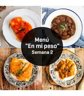 "Menú Innoven ""en mi peso"" Semana 2"