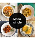 Menús para singles