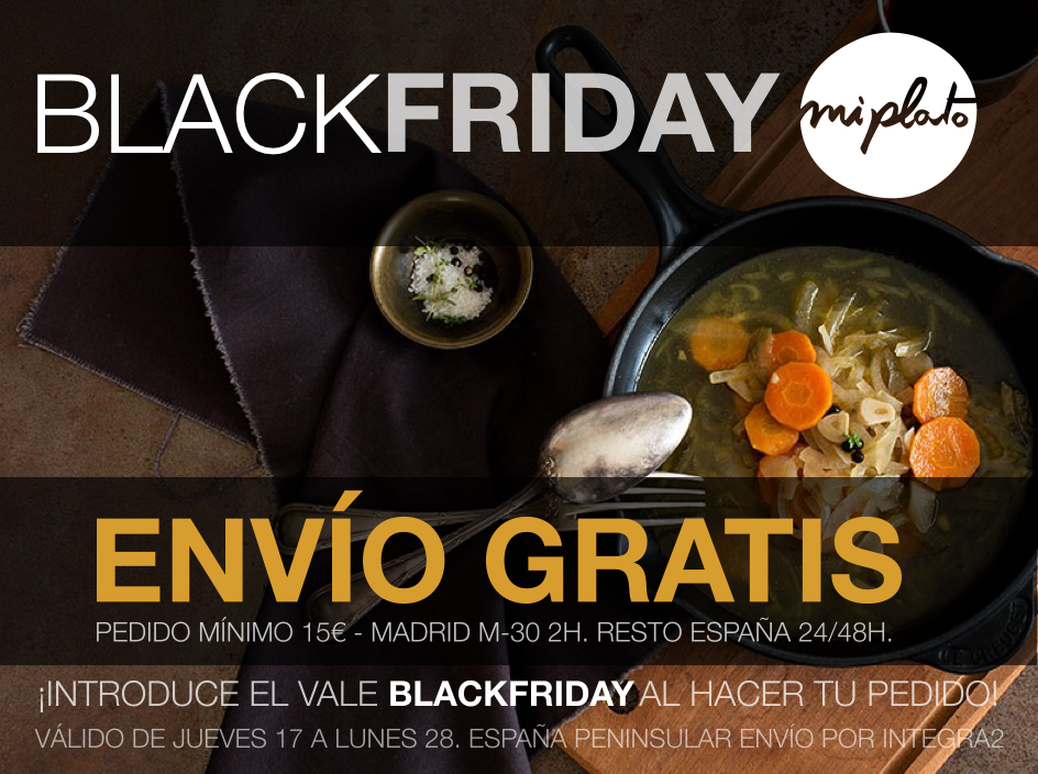 black friday miplato.es
