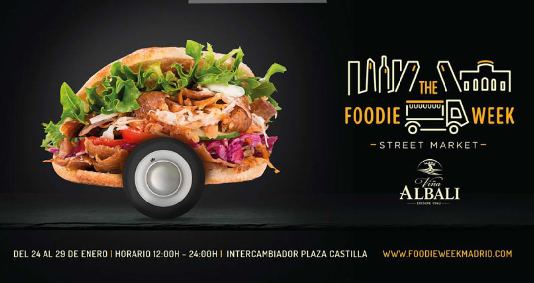 Miplato participa en el street market «The Foodie Week» Madrid