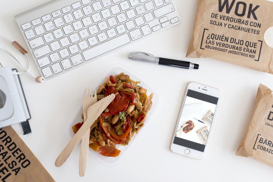 La alternativa al táper que te dará más tiempo libre: pide tu Menú de Oficina y te lo llevamos a casa o al trabajo