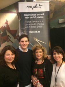 Representación cordobesa en #FriensFluencers: son @liberatuencanto @marienpozanco y @byjuliaserrano y @baldogas