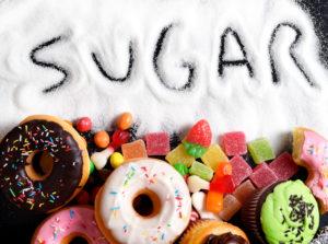 Azúcares añadidos en dulces y golosinas