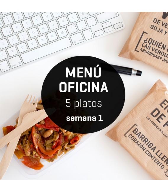 Cinco platos saludables para sobrevivir a la oficina