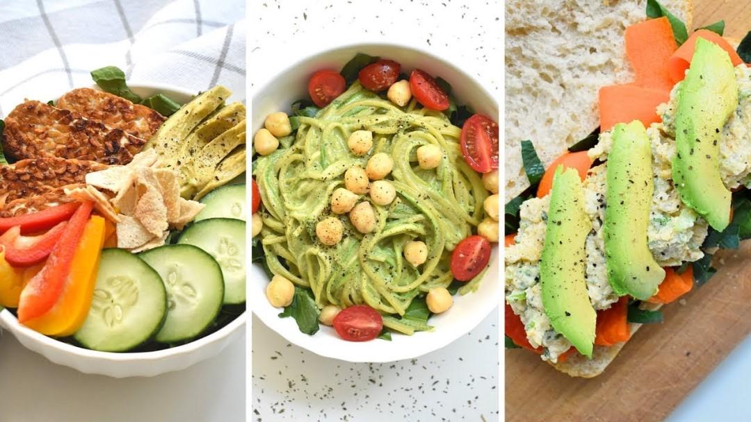 Comida rápida vegana para amantes del fast food