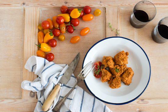 atún en salsa de tomate