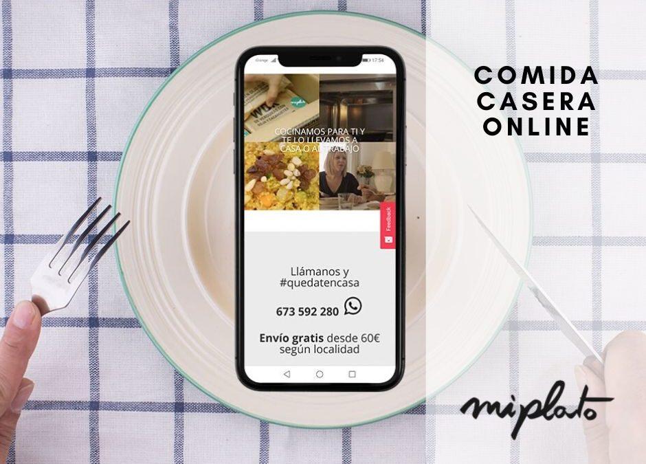 ¿Buscas comprar comida casera online? ¡Opciones sobran!