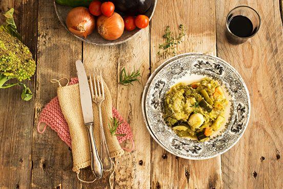 verduras salteadas a la provenzal